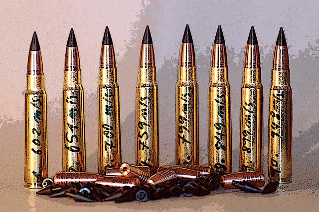munition unterscheiden teil und vollmantel