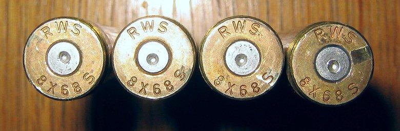 Lutz Möller 8x68S KJg Munition
